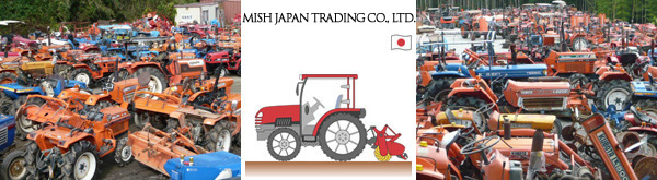 MISH JAPAN TRADING CO.-THE USED JAPANESE TRACTOR-